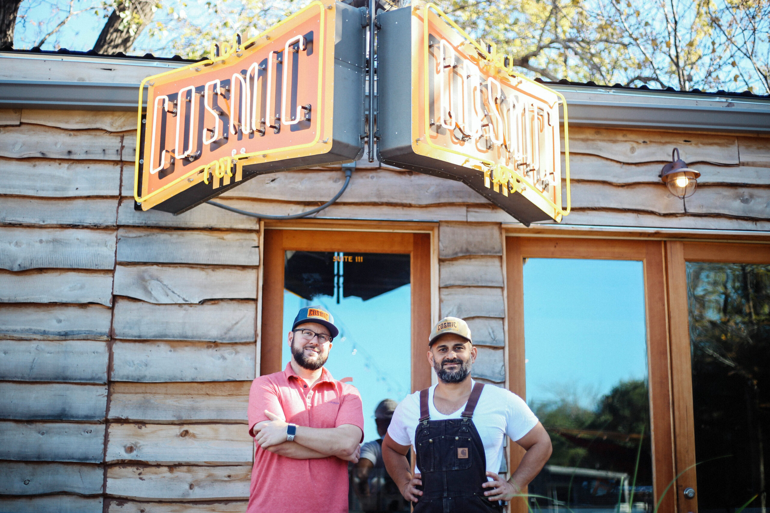 Patrick Dean and Paul Oveisi Founders Cosmic Coffee