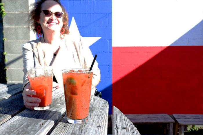 Bloody Mary at Lustre Pearl