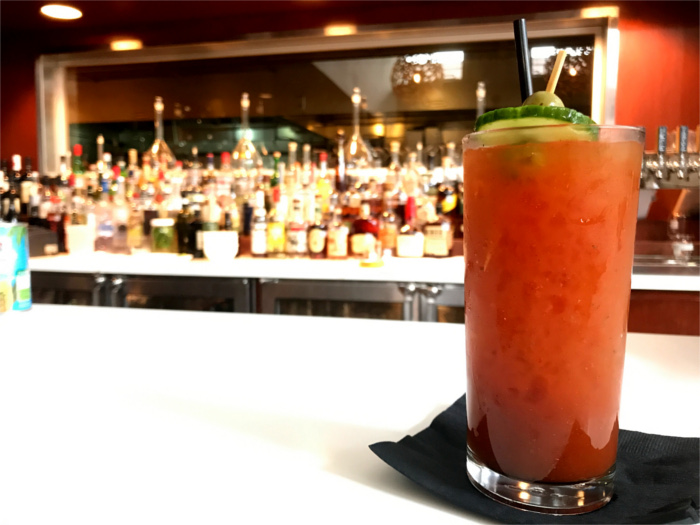 Bloody Mary at Second Bar + Kitchen