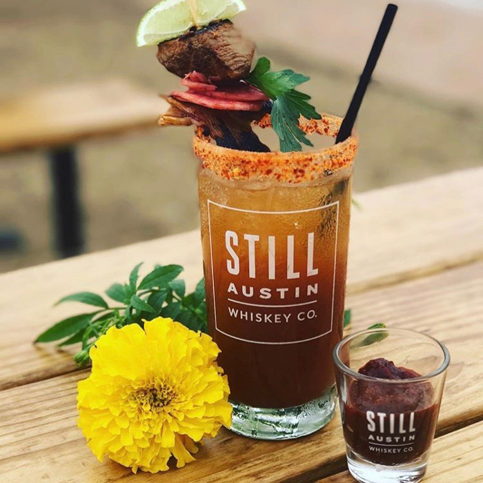 Bloody Mary With Whiskey in Austin