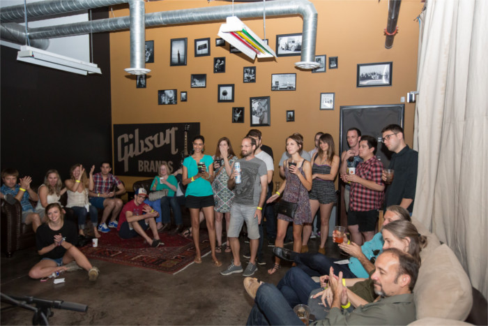 Microsessions at Gibson Showroom