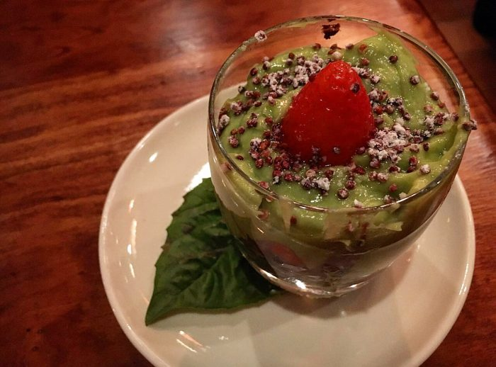 The choco-palta was a refreshing way to end the meal (Credit: The Austinot)