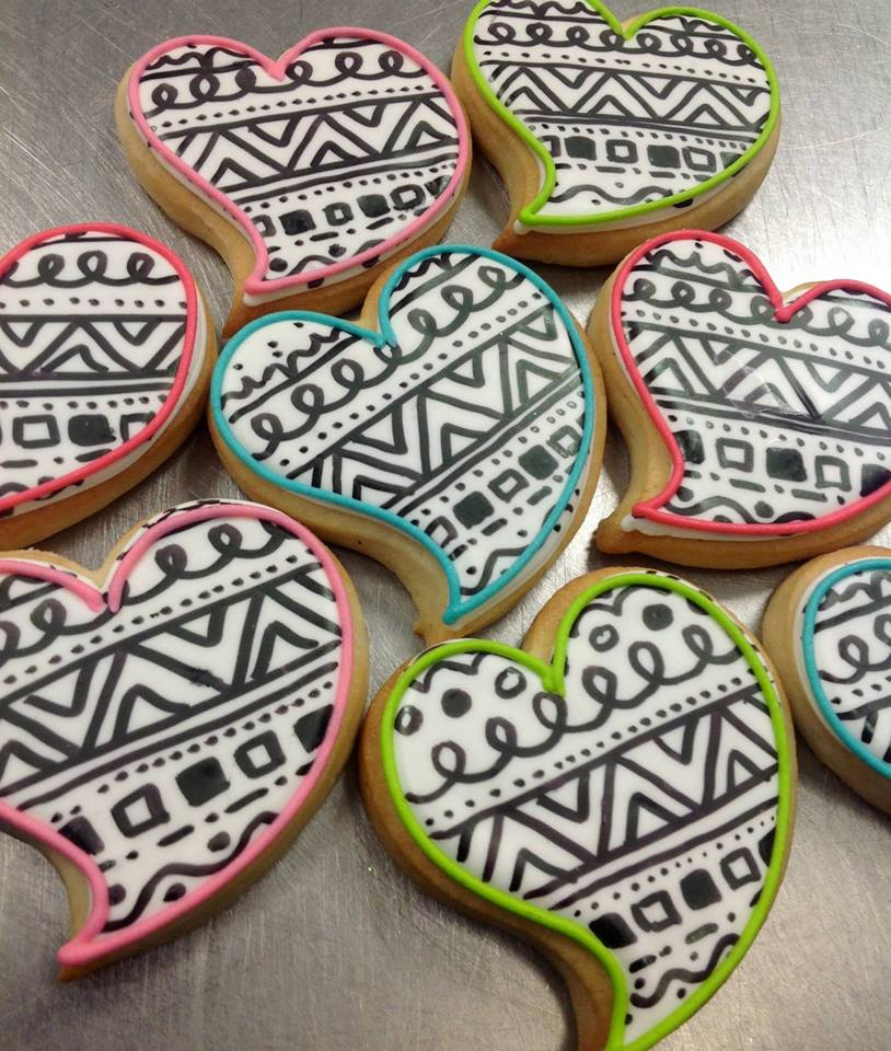 Valentine's Day Cookies Made in Austin