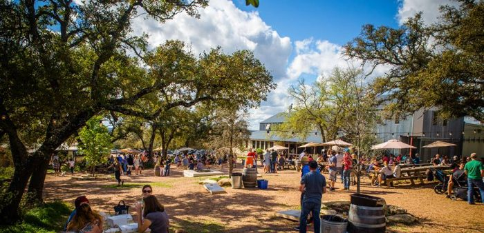 Jester King Brewery Outdoor Area