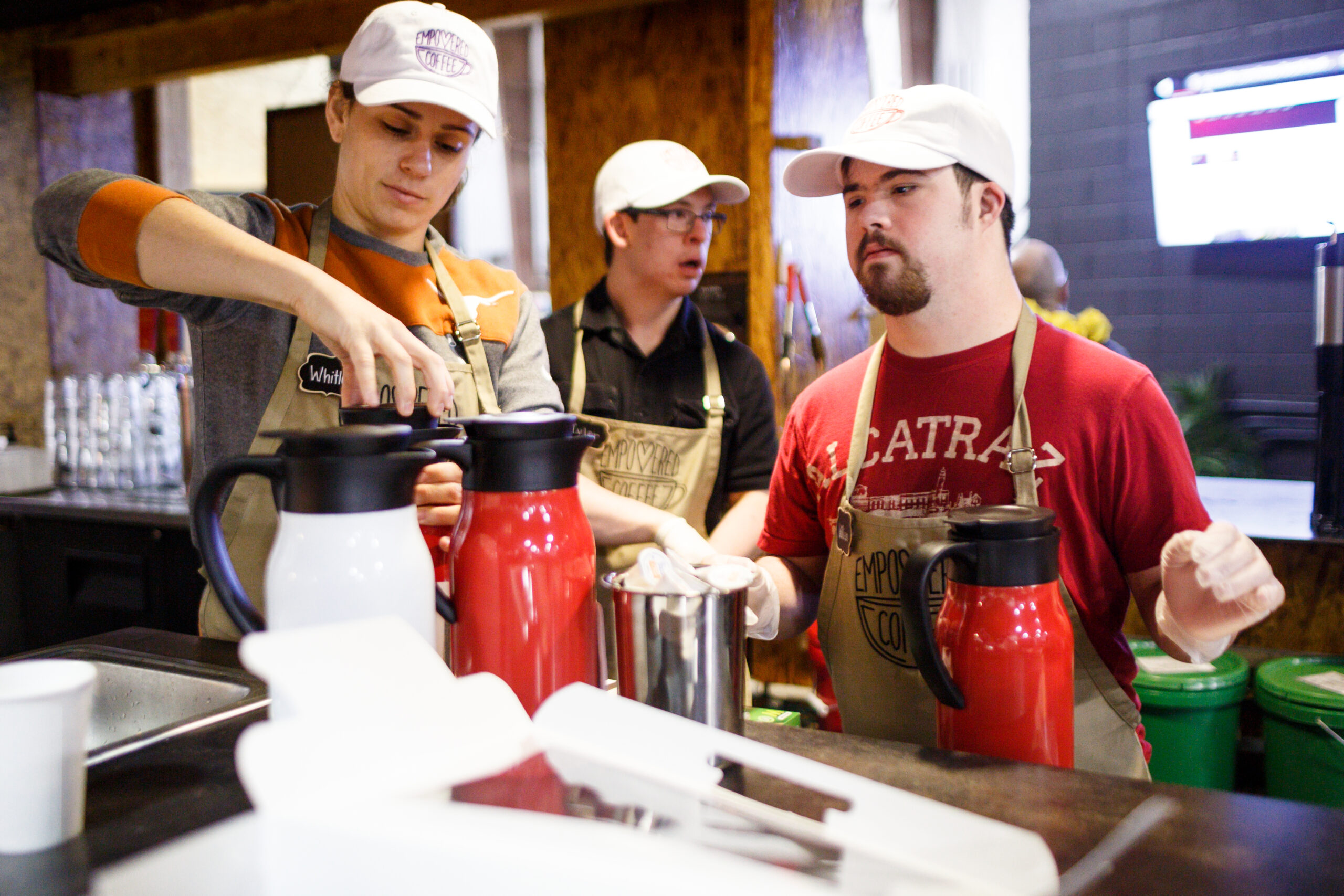 Empowered Coffee Jobs for IDDs in Austin