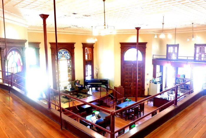 Dr. Eugene Clark Library in Lockhart