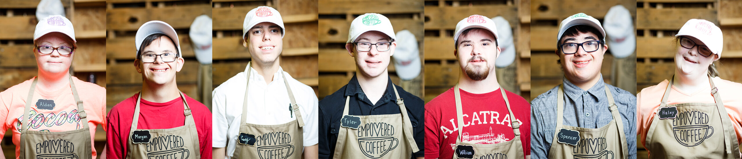 IDD Employees at Empowered Coffee