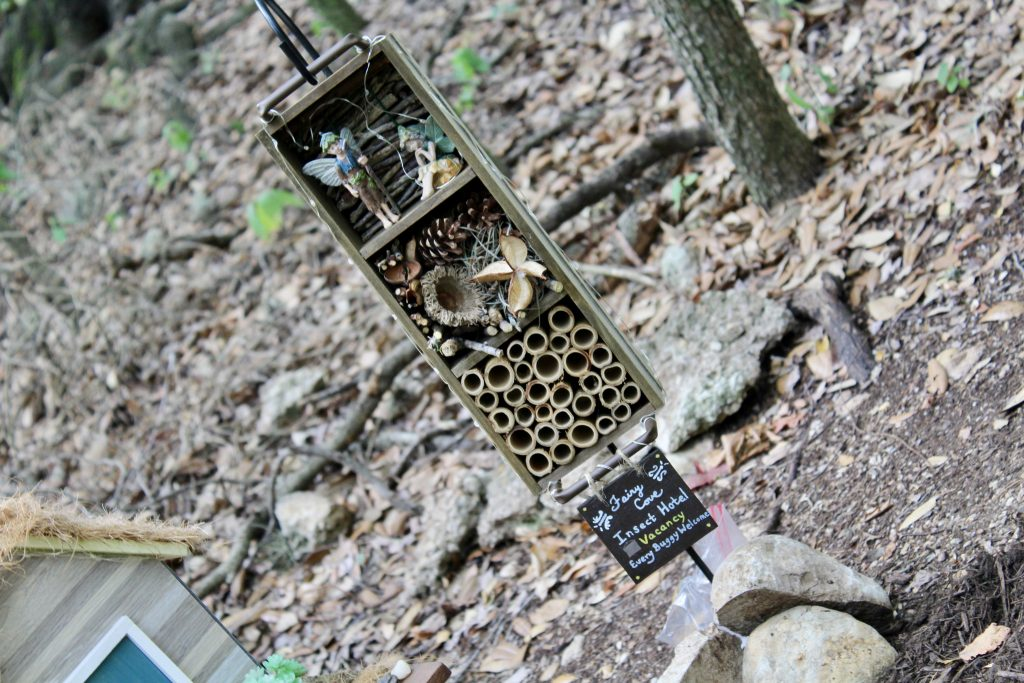 Insect Hotel at Woodland Faerie Trail