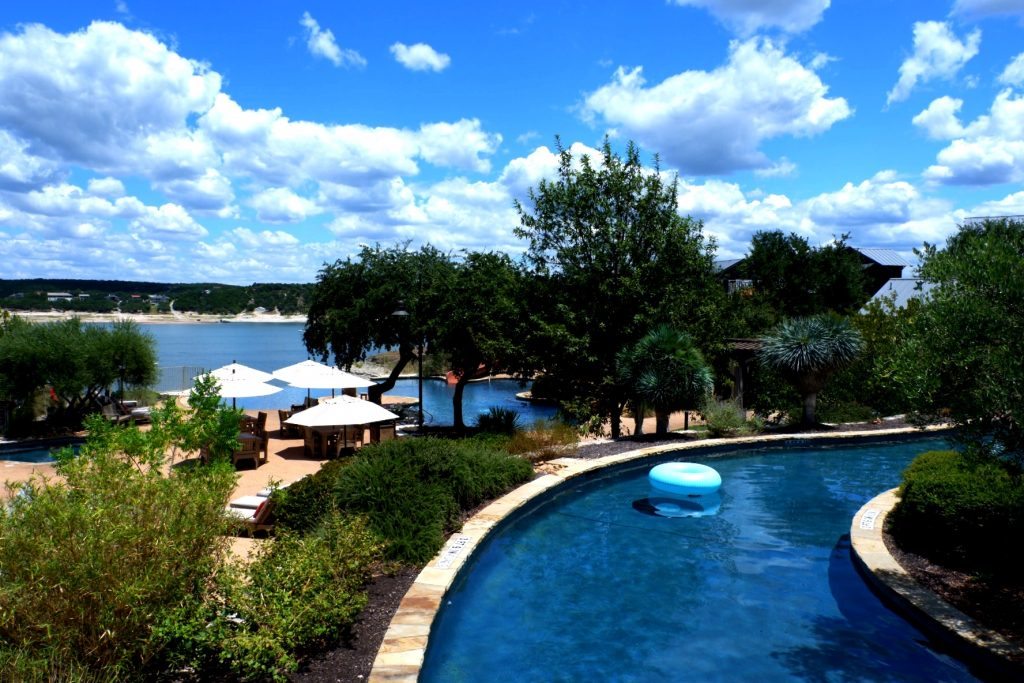 The Reserve Lazy River on Lake Travis