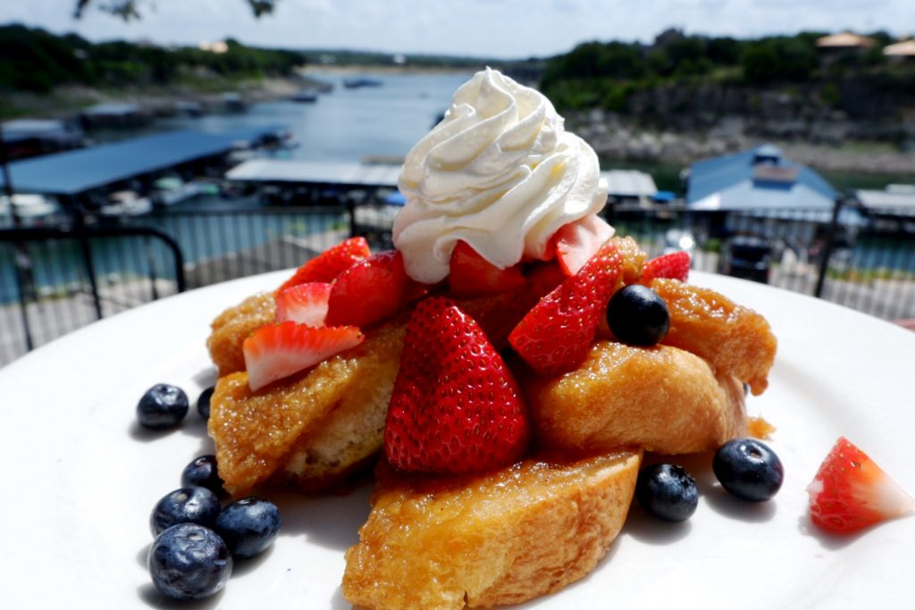 Creme Brulee French Toast at The Lighthouse