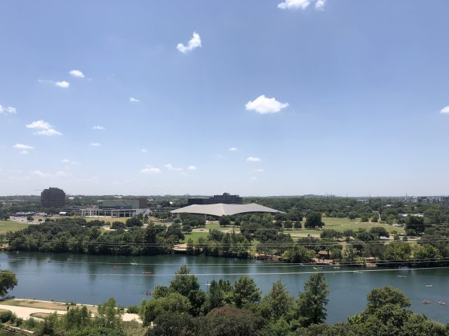 View from Austin Central Library