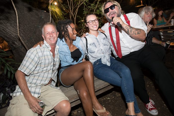 Nakia serenades fans for HAAM Day 2018 at Guero's Oak Garden in the before days