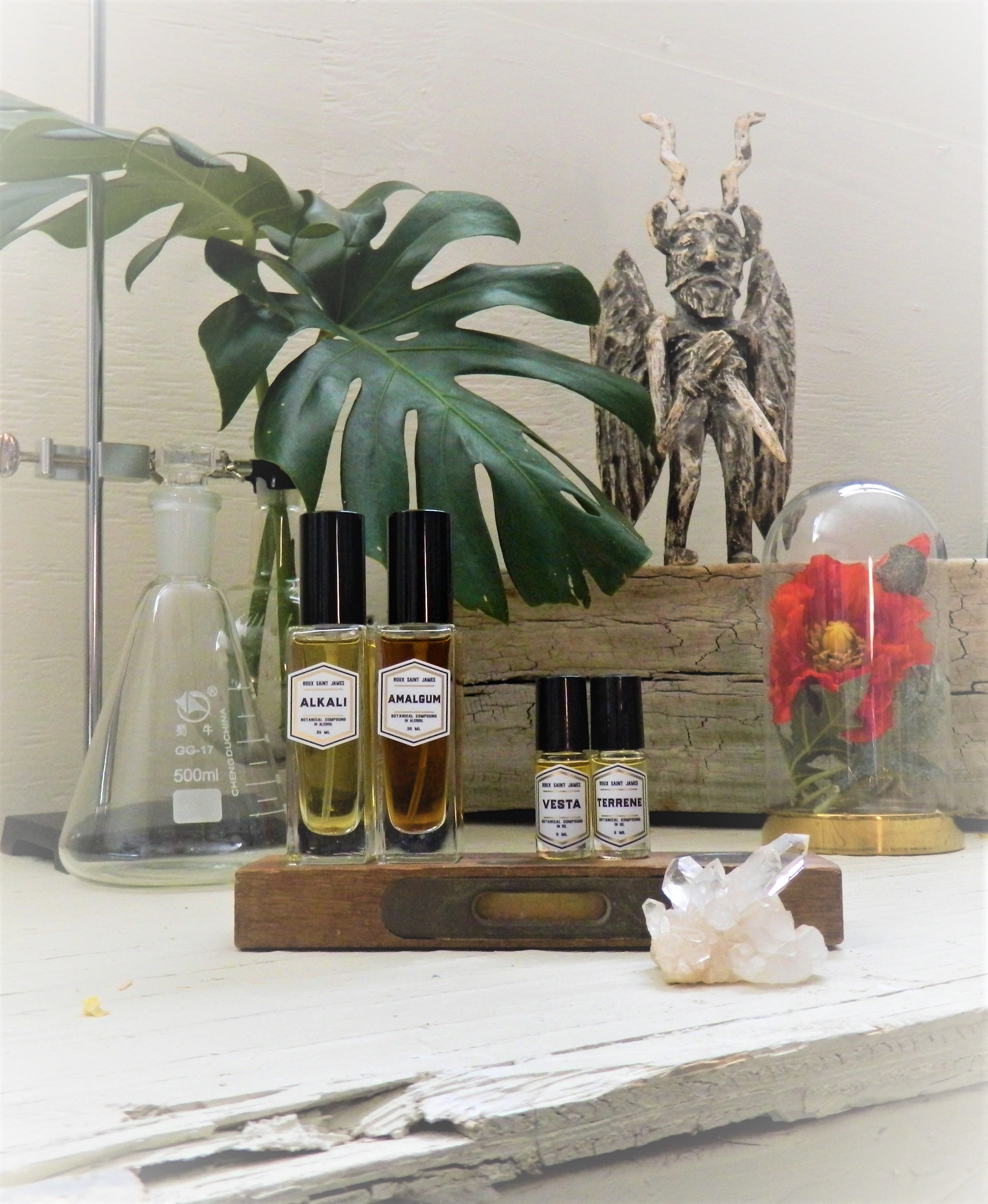 Roux Saint James Austin-based perfumery