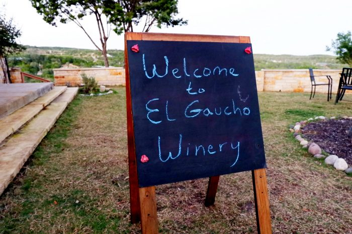 Welcome to El Gaucho Winery in Spicewood Texas
