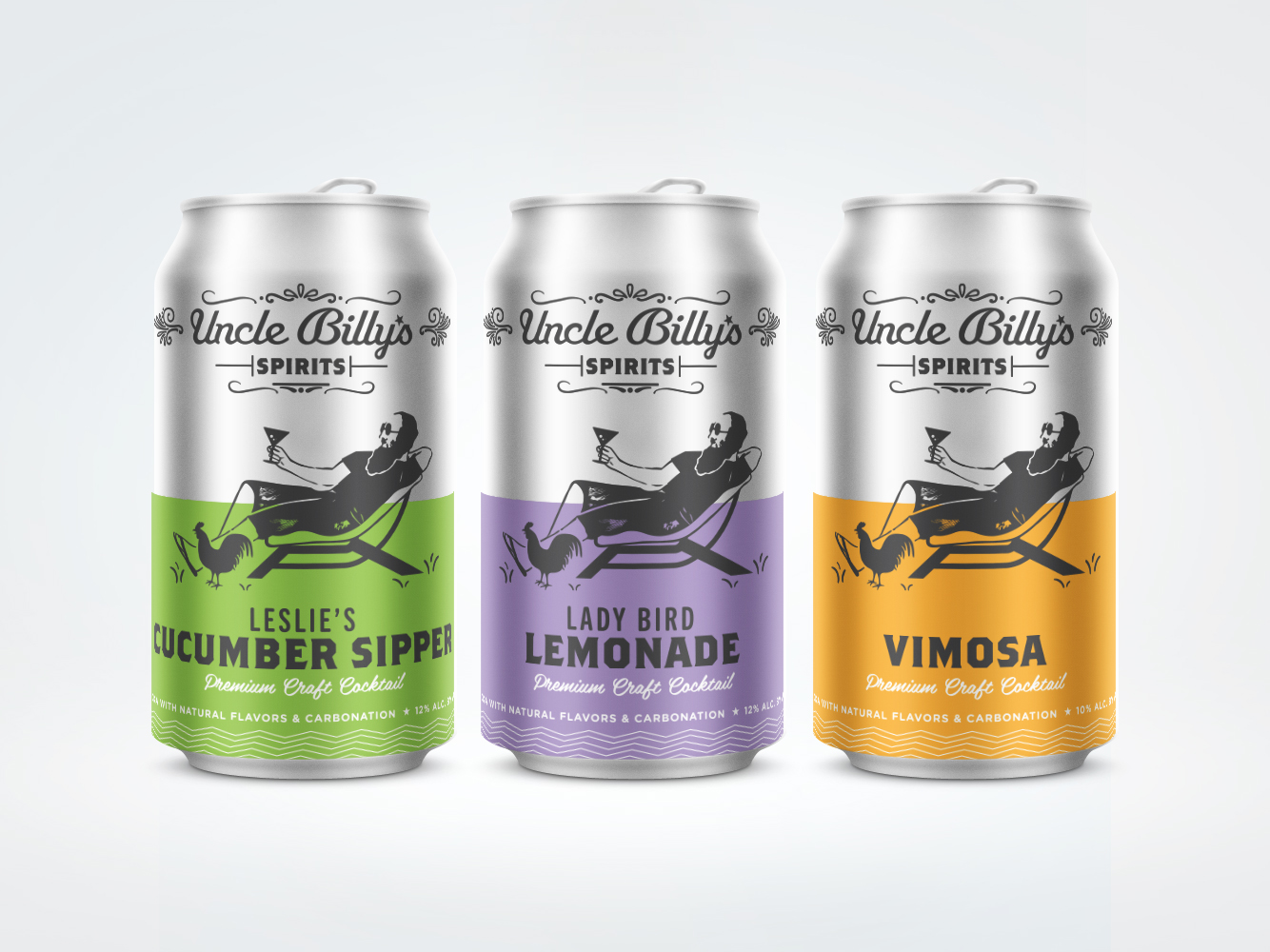 Uncle Billy's Brewery canned cocktails