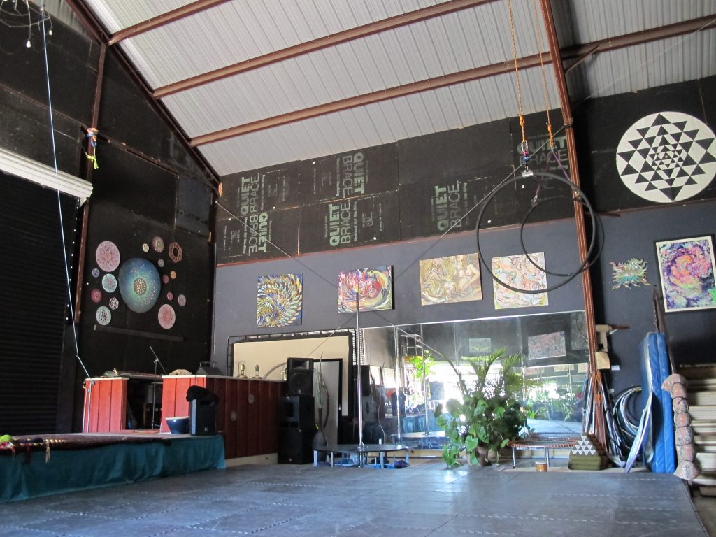 Free Yoga in Austin at Indra's Awarehouse