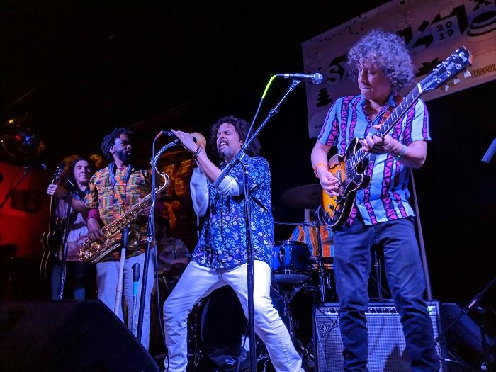 Superfónicos Performing Austin