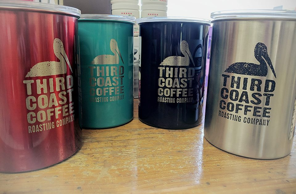 Third Coast Coffee Cannisters