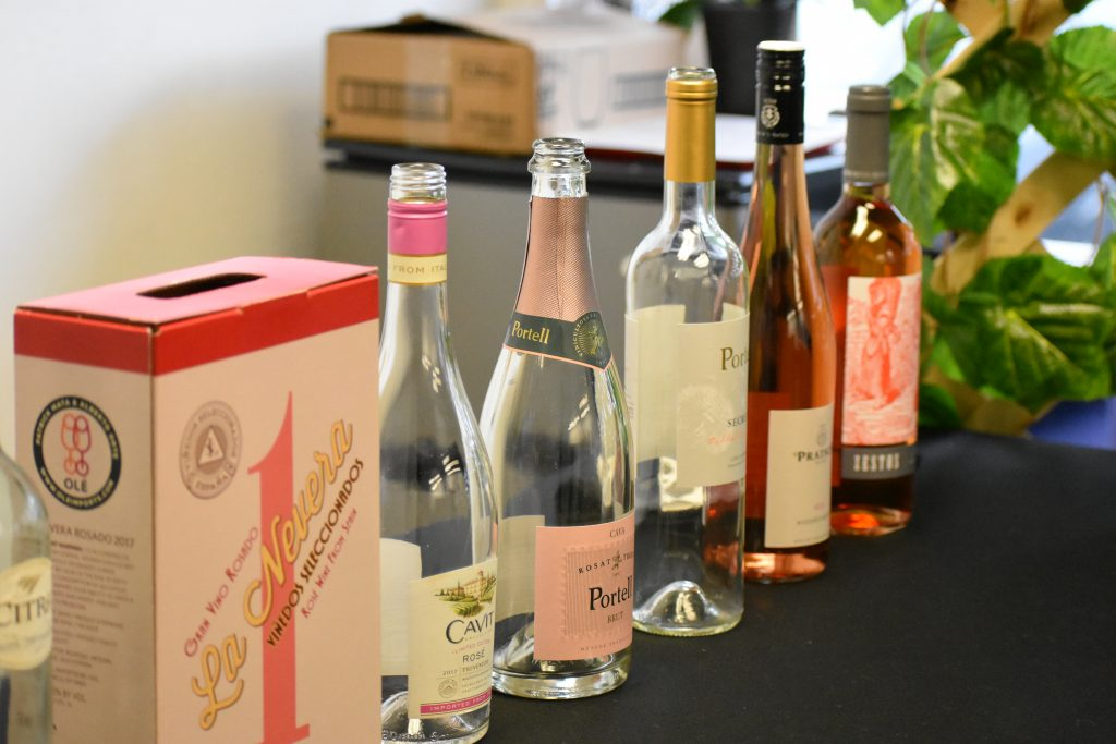 Wines to sample before purchase at Utopian Shift