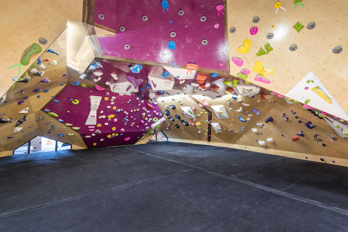 Thunder Dome Bouldering Cave at Crux Climbing Center