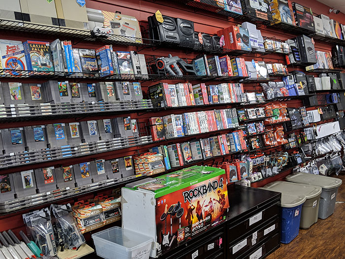 Game Over Videogames in Austin