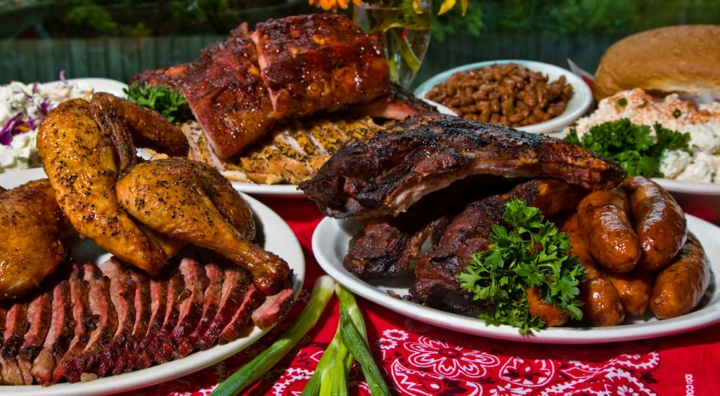 The County Line Barbecue Meat on Lake Austin