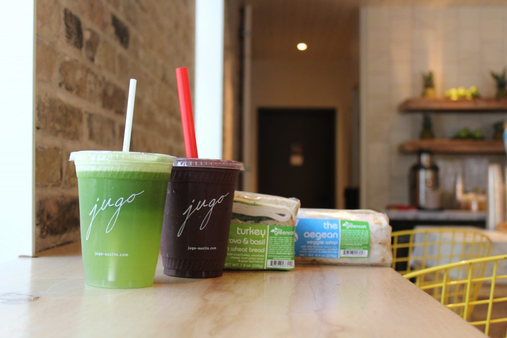 Jugo Fresh Juice and Smoothies in Austin