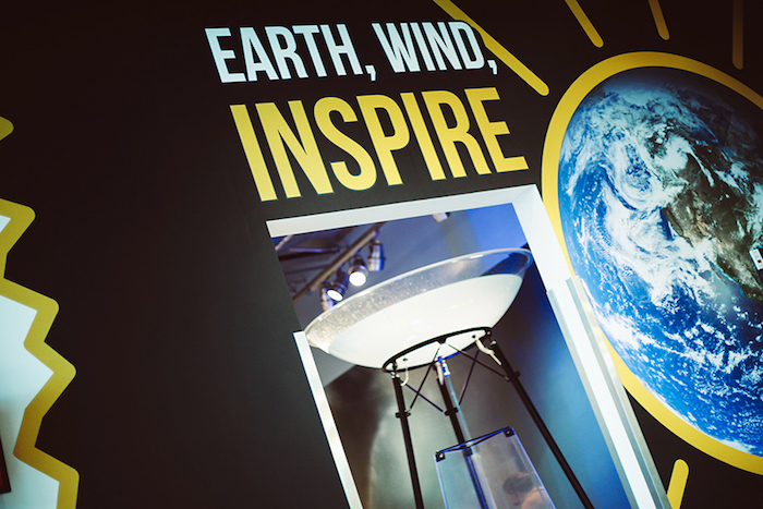 Earth, Wind, Inspire Exhibit at Thinkery