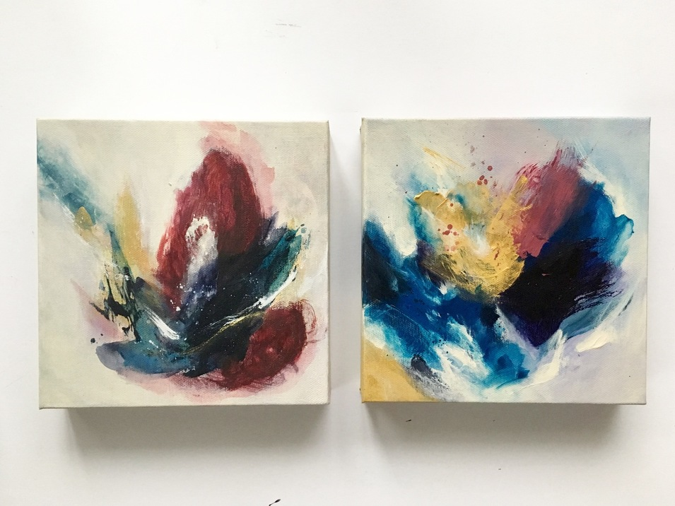 Arielle Austin Abstract Painting