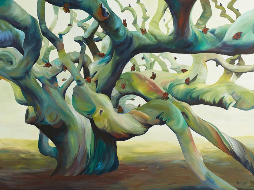 Monarch Migration Painting by JR Rapier