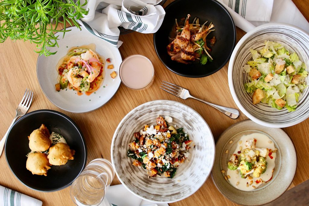 Happy Hour Dishes at Rosedale Kitchen and Bar in Austin