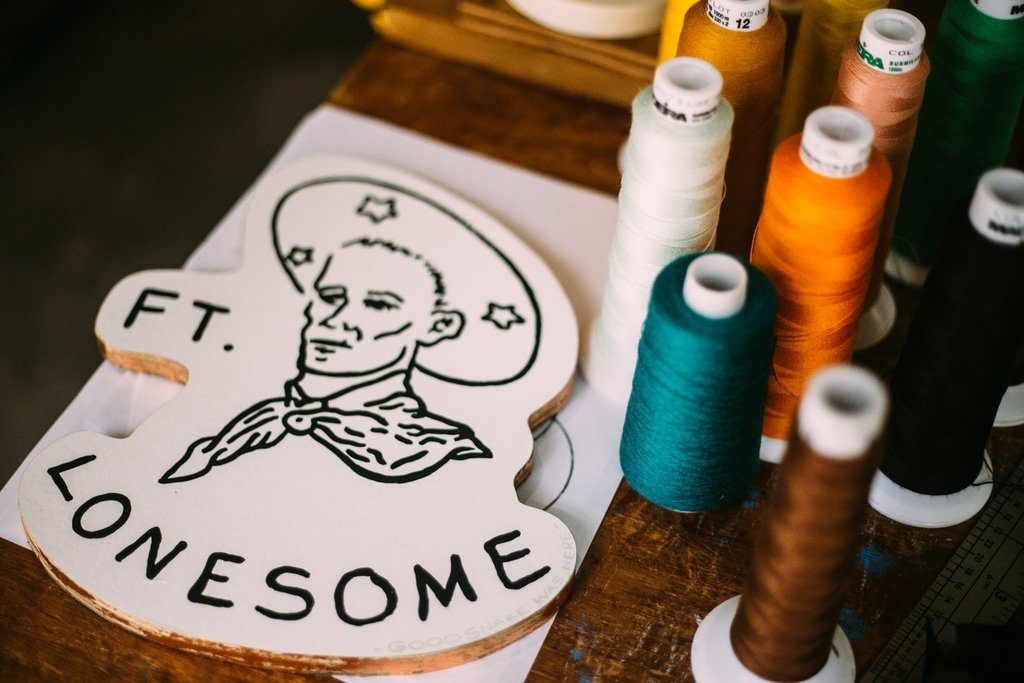 Fort Lonesome Patch Making in Austin