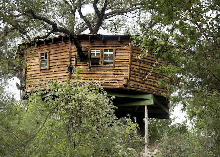 Wheelchair-accessible Reese's Treehouse at Candlelight Ranch