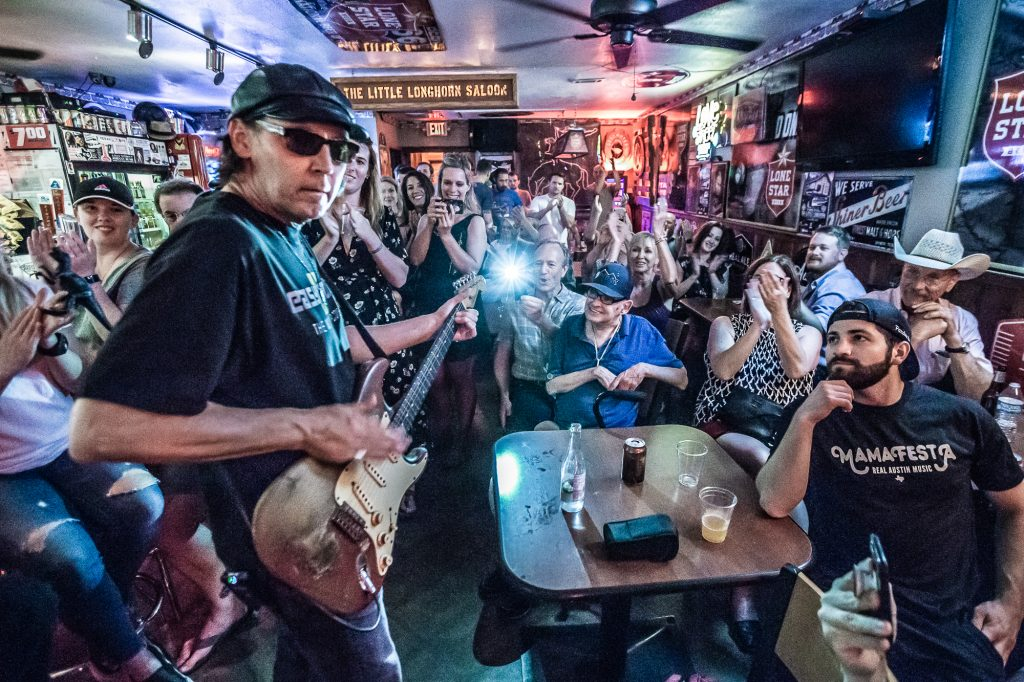Alan Haynes Performs at The Little Longhorn Saloon in Austin