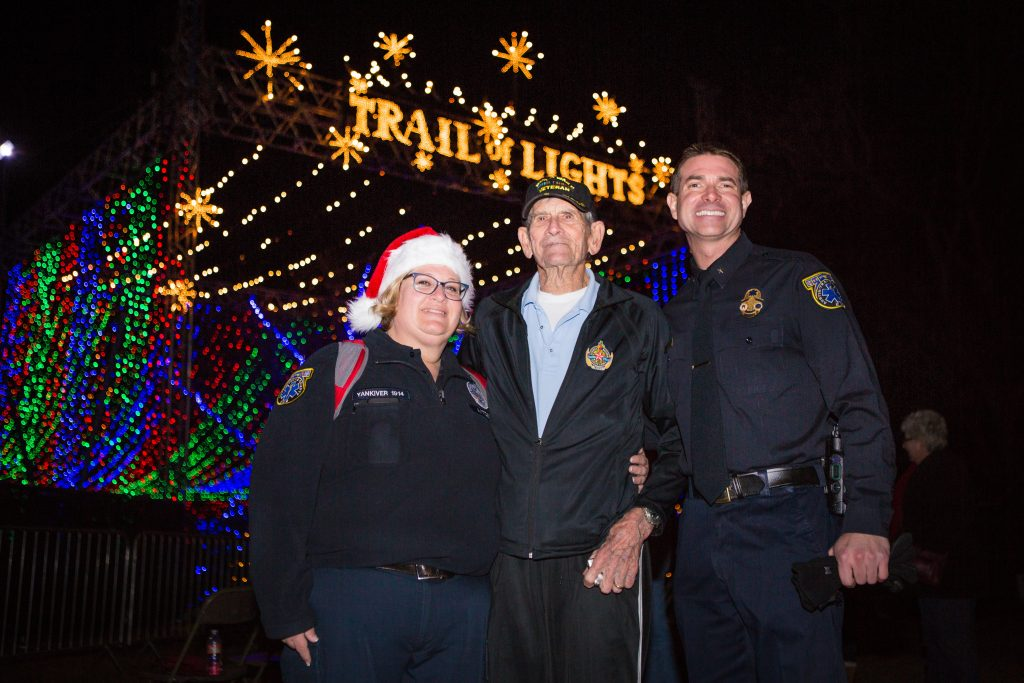 Heroes Night at Austin Trail of Lights
