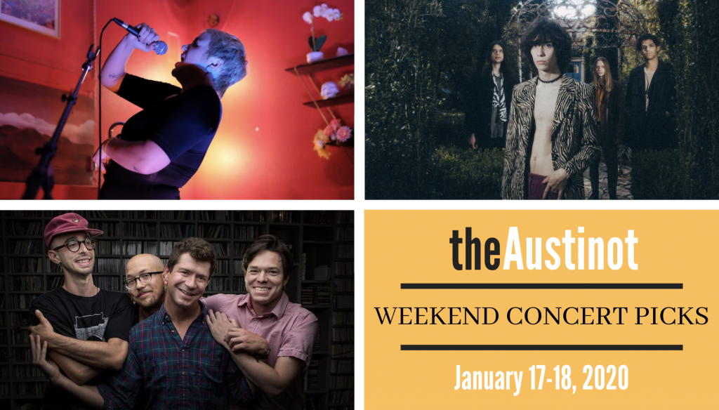 The Austinot Weekend Concert Picks January 24-25, 2020