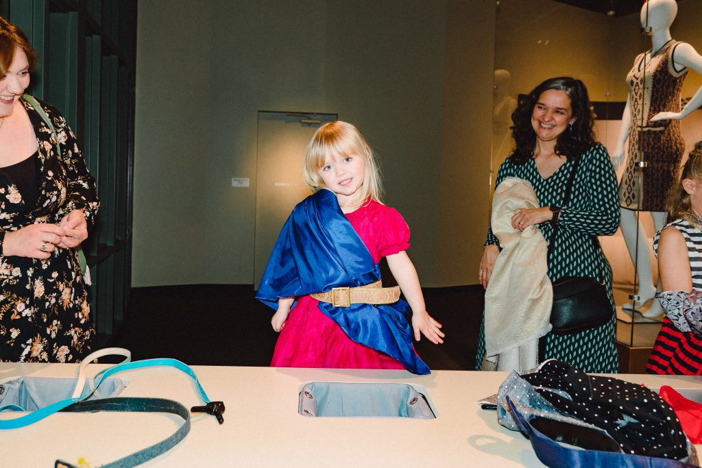 Playing With Fabrics at Bullock Museum