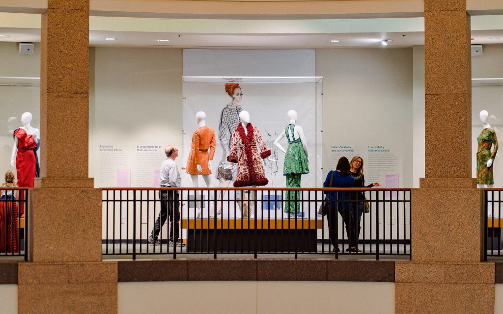 Fashion Forward Exhibition at Bullock Texas State History Museum