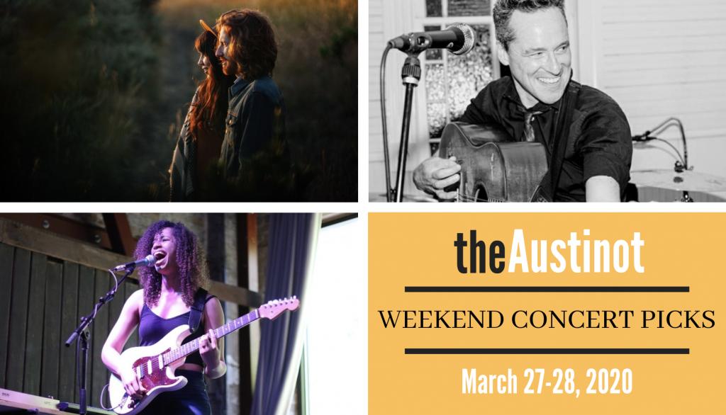 Austinot Weekend Concert Picks March 27