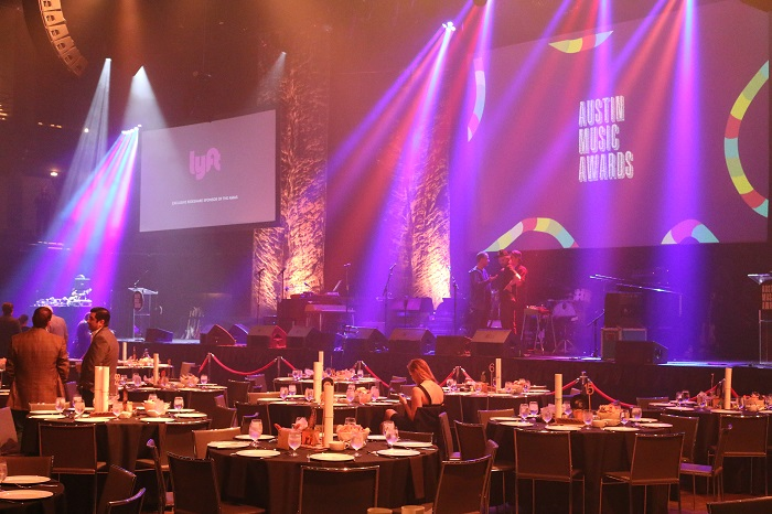 Moody Theater During Austin Music Awards