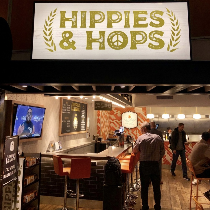 Hippies and Hops at Austin Airport