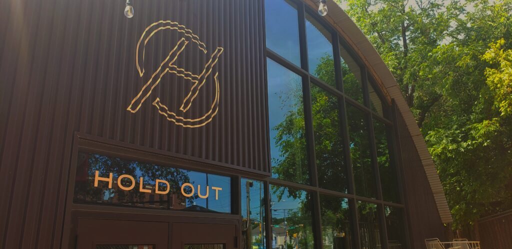Hold Out Brewing storefront