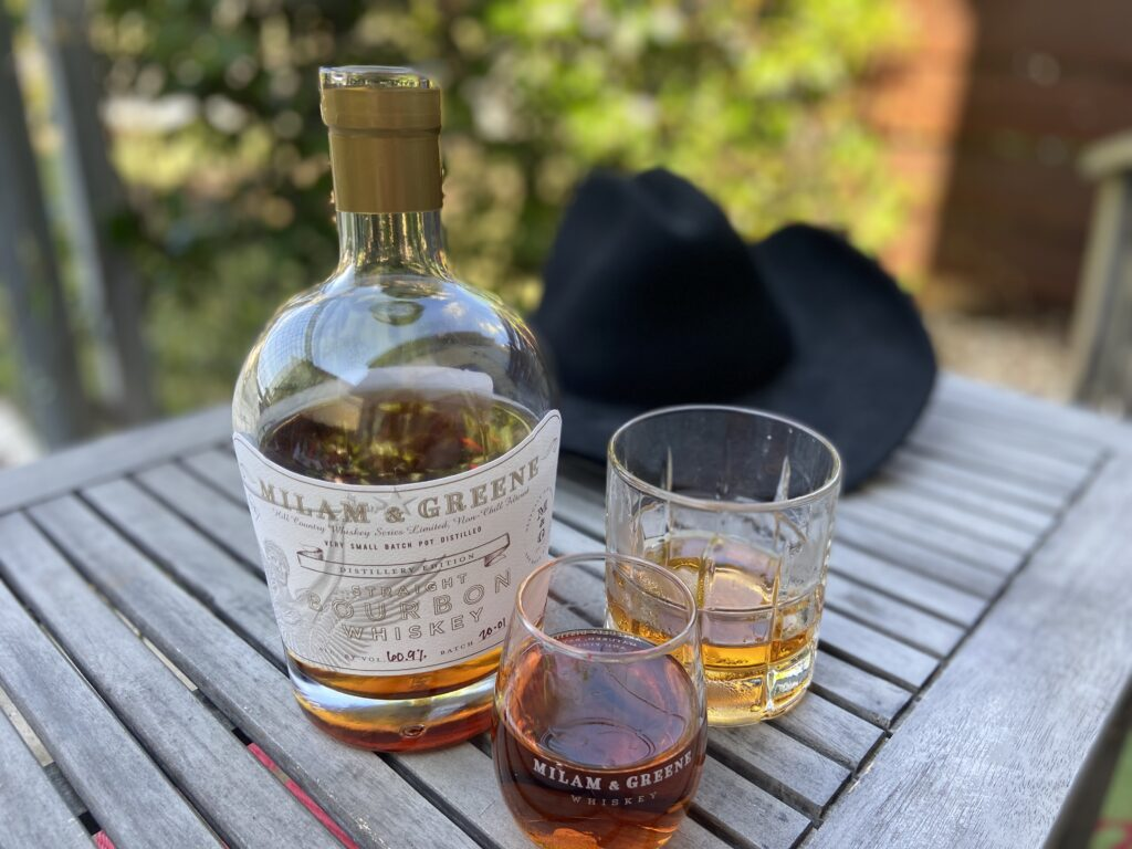 Milam and Greene has created a perfect Texas whiskey