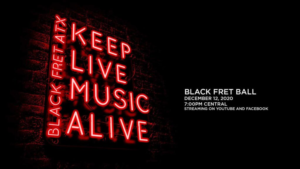 Black Fret Ball 2020 is virtual and free to attend