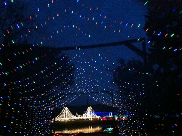 Christmas Lights With Music