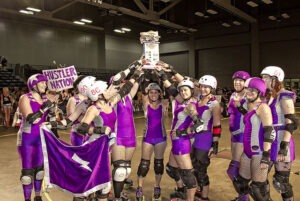 The Hustlers won the 2011 Texas Rollergirls Championship