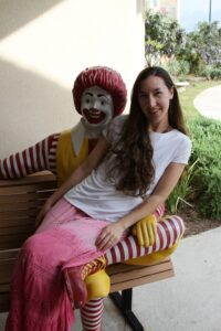 Brittany Highland from Austin Blog Visits Ronald McDonald House