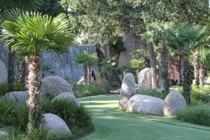 Horseshoe Bay Resort's putt putt course boasts live Bermuda grass