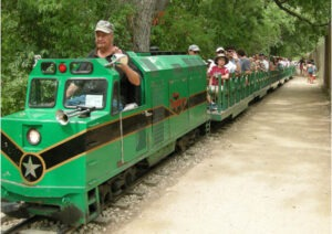 Zilker Park train in Austin
