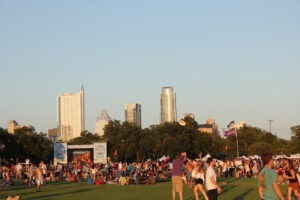 Blues on the Green in Austin, Texas